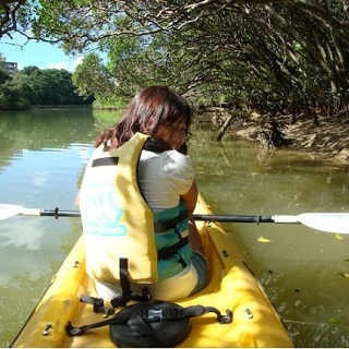 【Applicable Discount from 2 participants or more】Fun for Group of Friends or Couples too! Higashigawa Mangrove Kayak Tour!