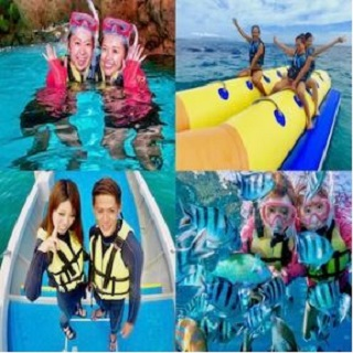Water Sports Combo Package★Blue Cave Snorkelling Experience+Banana Boat