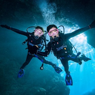 Marine Activities Combo Packge★Blue Cave Diving&BIG MABLE