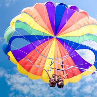 【Special Value Combo Package】 Parasailing & Marine Walk ♪