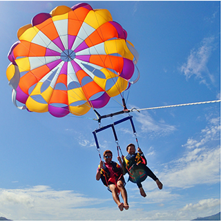 【Special Value Combo Package】Active 3 & Parasailing