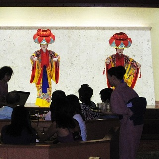 【Japanese-Ryukyu style kaiseki set meal】Enjoy Japanese and Ryukyu dishes watching Ryukyu dances!
