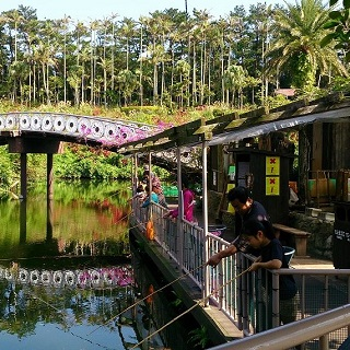 【Fishing in the pond】+ admission ticket to Southeast Botanical Gardens!