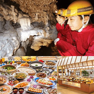 【Okinawa Holiday Hackers Special PLAN】 Explore the Cave in the Southern Island & Enjoy an Entrance to the Park!