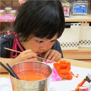 Plasters shisa painting experience♪ (small / large size) Can take home! !