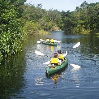 Okinawa Subtropical Bios Hill Ticket & Canoeing Package