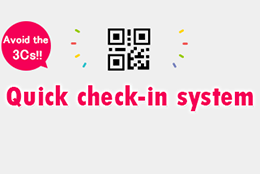 Quick check-in system