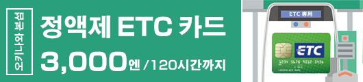 정액제 ETC 카드
