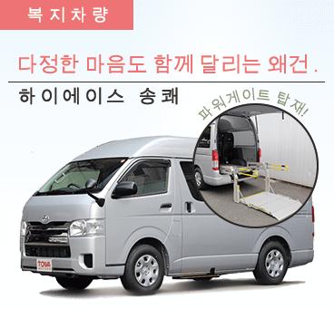 【오키나와 본섬】 복지 차량9 플랜