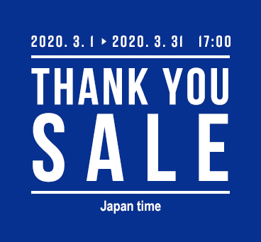【HOKKAIDO】OTS Thank You Sale 2020