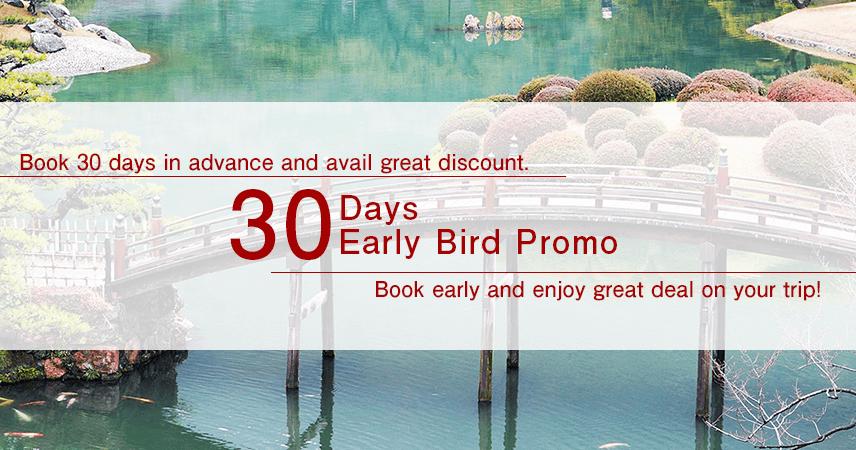 【Kagawa】30 Days Early Bird Promo