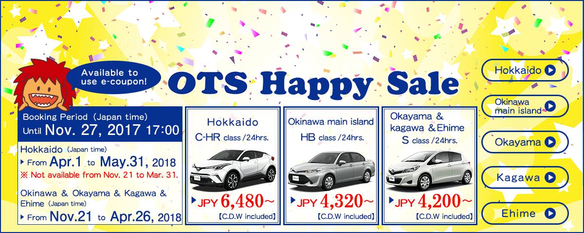 OTS Happy Sale