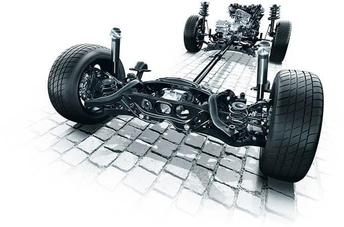 操縦安定性と乗り心地の高次元での両立