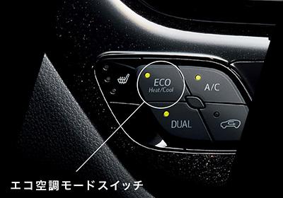 エコ空調モードスイッチ