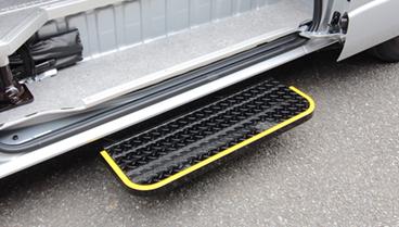 Motion mechanical doorstep