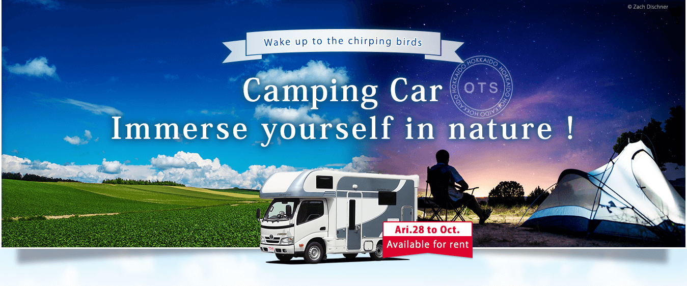 Camping Car. Immerse yourself in nature