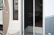 捲簾式紗窗門