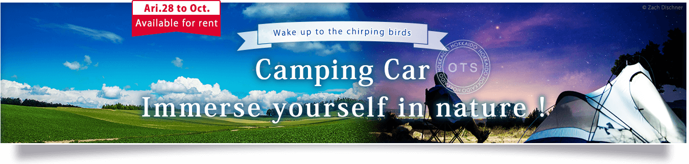 Camping Car Immerse yourself in nature