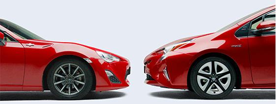 與豐田跑車「86」同程度的低重心車身
